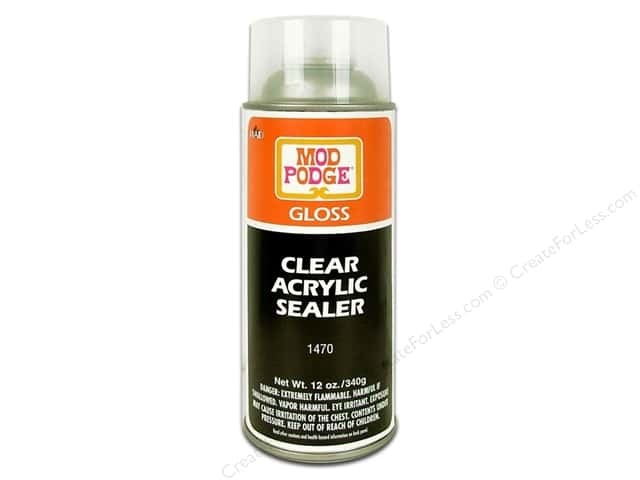 Plaid Acrylic Sealer Mod Podge Aerosol Gloss 12oz