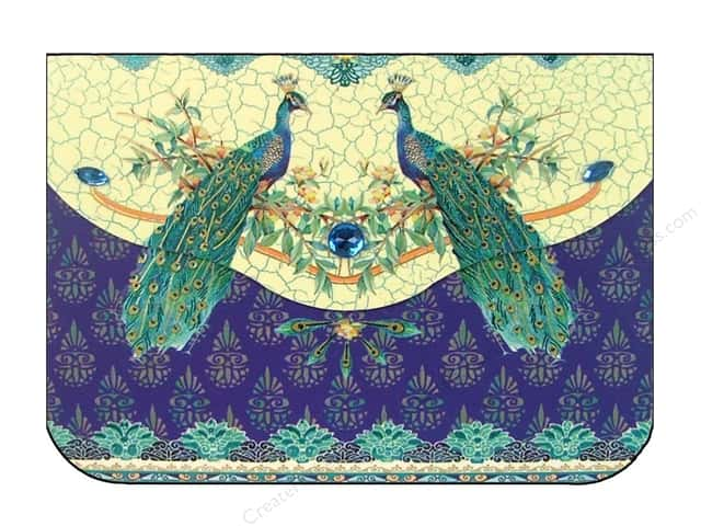 Pictura Purse Pad Gem Indigo Moon Peacocks