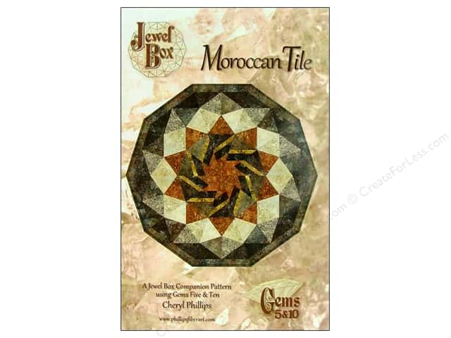 Phillips Fiber Art Moroccan Tile Pattern