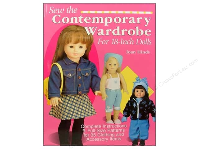 "Krause Publications Sew The Contemporary Wardrobe For 18""Dolls Book"