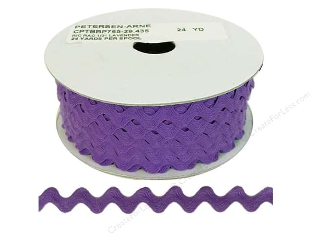Ric Rac by Cheep Trims  1/2 in. Lavender (24 yards)