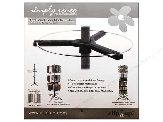 Simply Renee Clip It Up Floor Model Arm