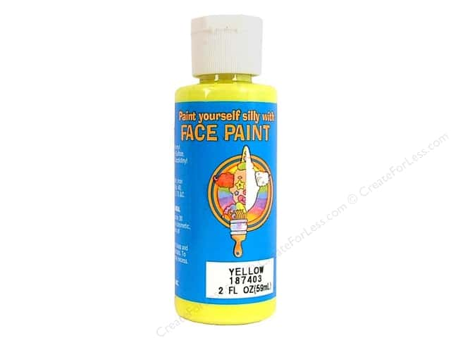 Palmer Face Paint Yellow 2oz