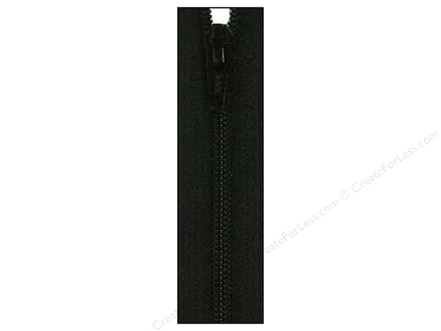Atkinson Designs Zipper 14 in. Basic Black by YKK