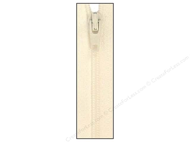 Atkinson Designs Zipper 14 in. Marshmallow by YKK