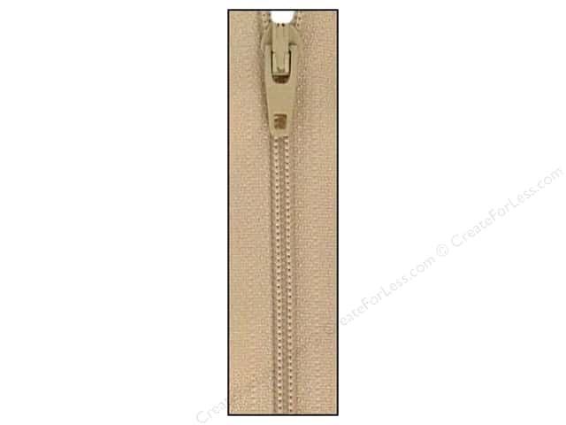 Atkinson Designs Zipper 14 in. Mushroom by YKK