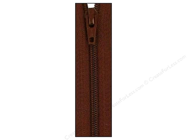 Atkinson Designs Zipper 14 in. Chocolate Syrup by YKK