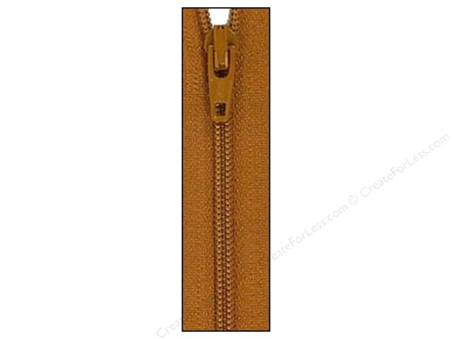 Atkinson Designs Zipper 14 in. Gingerbread by YKK