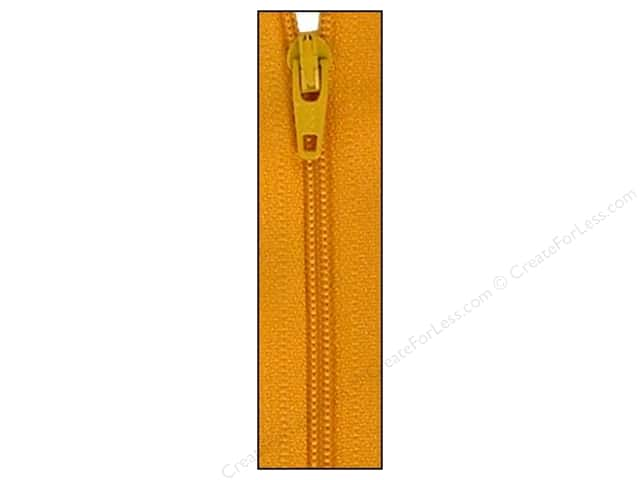 Atkinson Designs Zipper 14 in. Yukon Gold by YKK