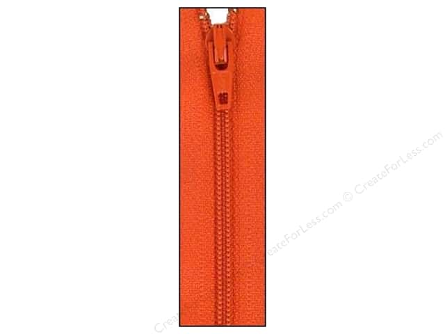 Atkinson Designs Zipper 14 in. Pumpkin by YKK