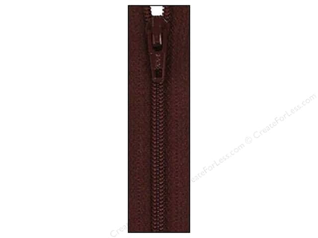 Atkinson Designs Zipper 14 in. Raisin by YKK