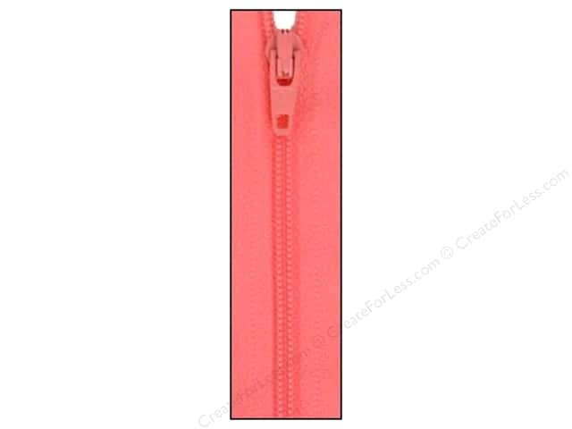 Atkinson Designs Zipper 14 in. Pink Frosting by YKK