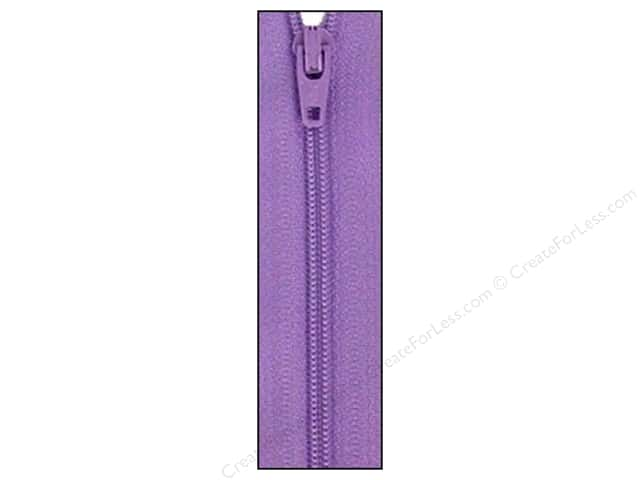 Atkinson Designs Zipper 14 in. Princess Purple by YKK