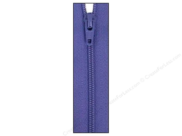 Atkinson Designs Zipper 14 in. Periwinkle by YKK