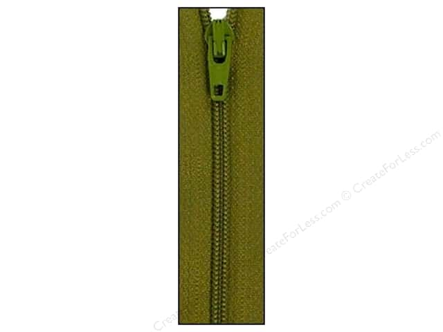 Atkinson Designs Zipper 14 in. Mossy by YKK
