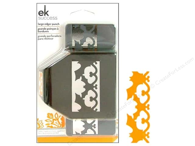 EK Paper Shapers Large Edger Punch Bat Flourish