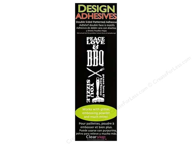 Clearsnap Design Adhesives BBQ
