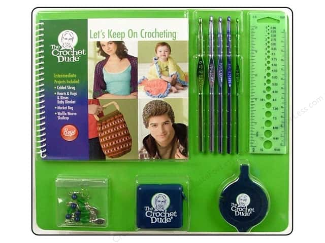 The Crochet Dude Intermediate Crochet Kit - Let's Keep Crocheting
