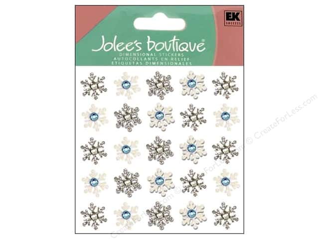 Jolee's Boutique Stickers Repeats Snowflake