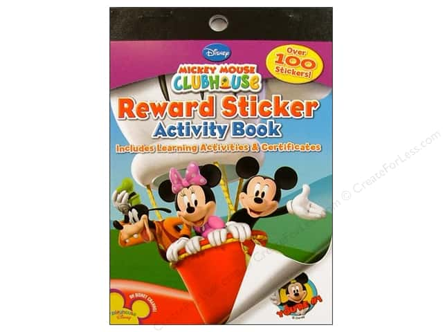 Bendon Reward Stickers Book Mickey Mouse Clubhouse