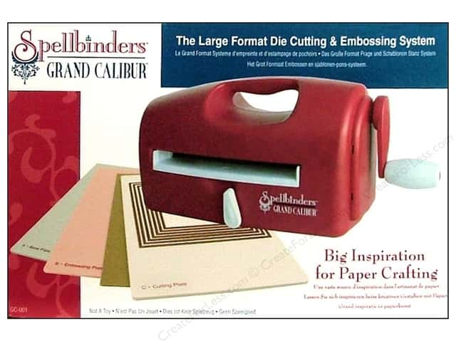 Spellbinders Grand Calibur Die Cutting & Embossing Machine