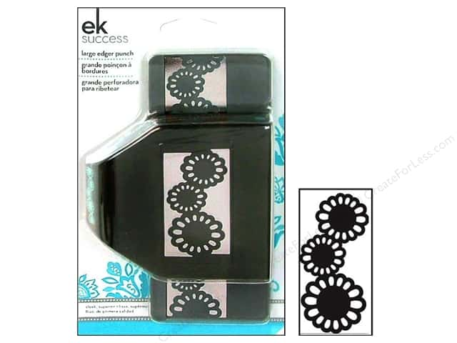 EK Paper Shapers Large Edger Punch Garden Flower Chain