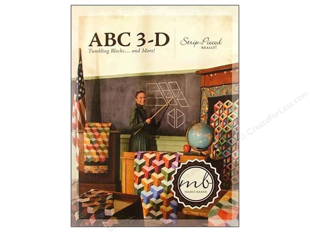 Alicia's Attic ABC 3-D Tumbling Blocks & More Book