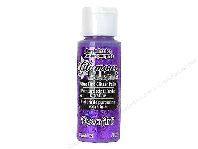 DecoArt Glamour Dust 2oz Purple Passion