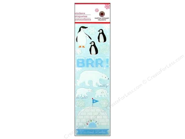 Martha Stewart Sticker Epoxy Winter Wonderland