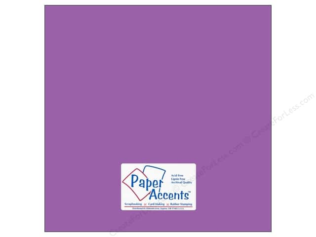 Cardstock 12 x 12 in. #10120 Stash Builder Thistle by Paper Accents (25 sheets)