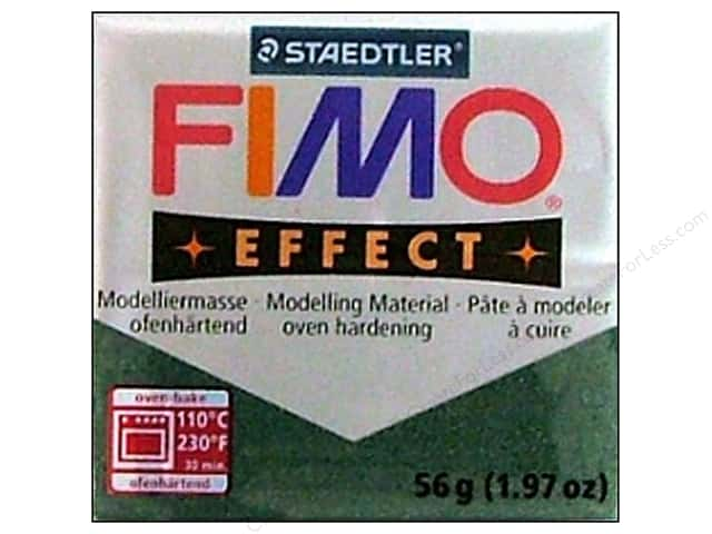 Fimo Soft Clay 2 oz. Metallic Opal Green