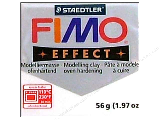 Fimo Soft Clay 56gm Metallic White
