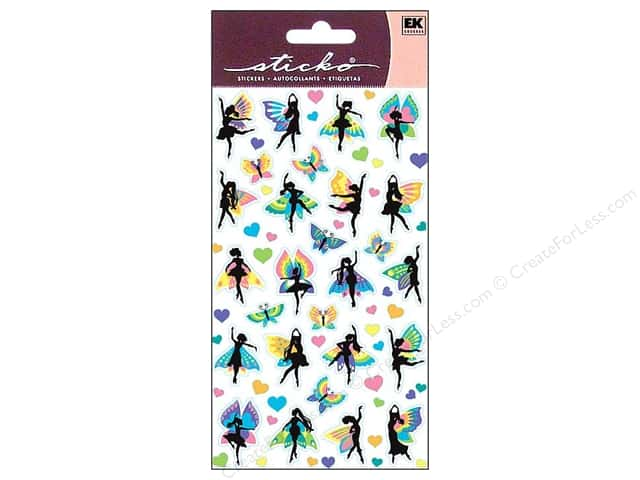 EK Sticko Stickers Fairy Dancers