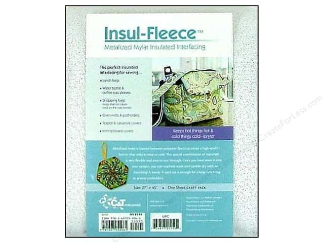 "C&T Interfacing Insul-Fleece Craft Pack 27""x 45"""