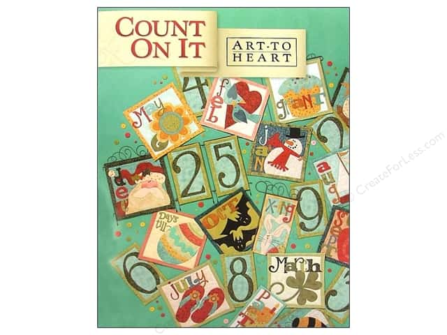Art to Heart Count On It Book by Nancy Halvorsen