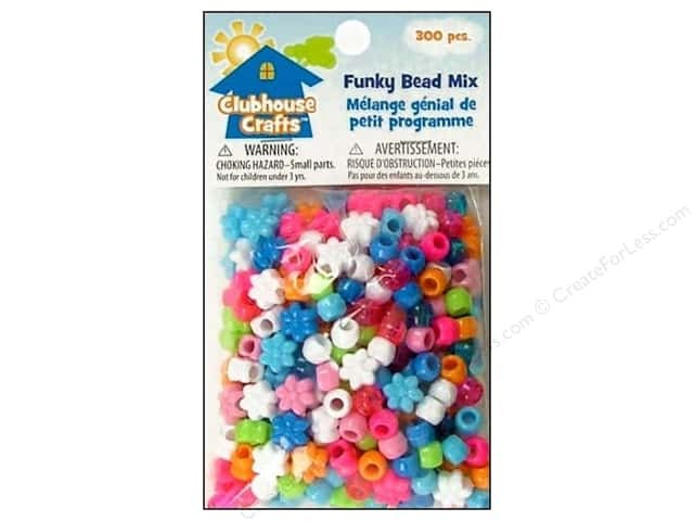 Sulyn Clubhouse Crafts Bead Mix Funky 300pc