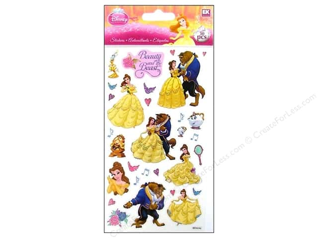 EK Disney Sticker Beauty And The Beast
