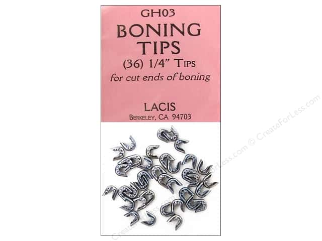 "Lacis Boning Tips 1/4"" 36pc"