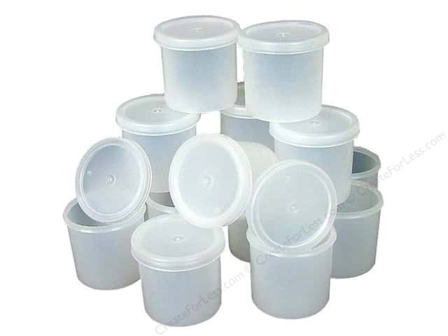 Plaid Cubby Ware Container with Lid 1oz Bulk (100 pieces)