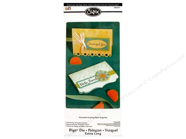 Sizzix Bigz XL Die Card Fronts A2 Eyelet & Ornate by Stu Kilgour