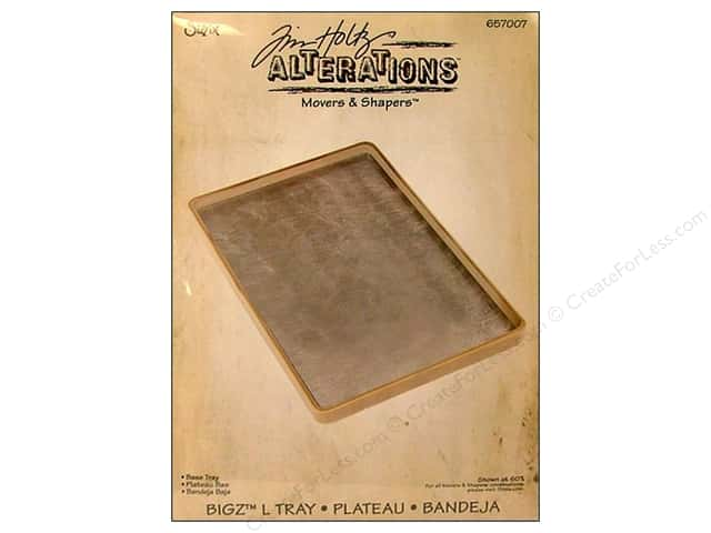 Sizzix Movers & Shapers Accessory Base Tray L by Tim Holtz