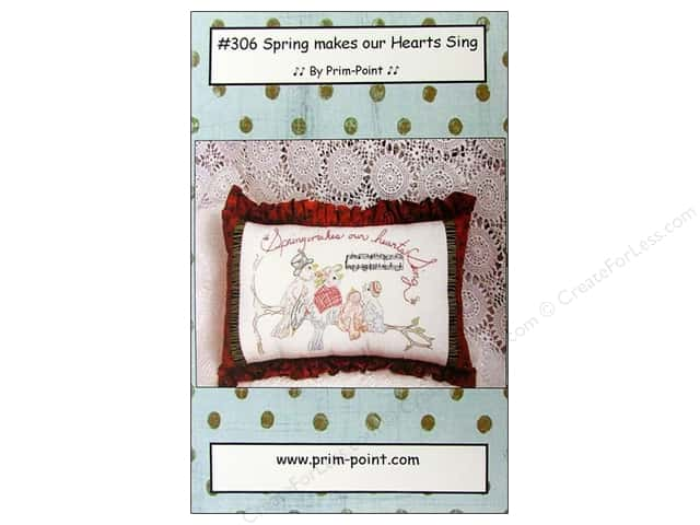 Prim Point Designs Spring Makes Our Hearts Sing Pattern