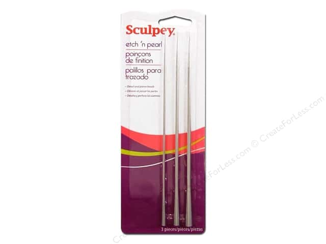 Sculpey Clay Tools Set Etch n Pearl