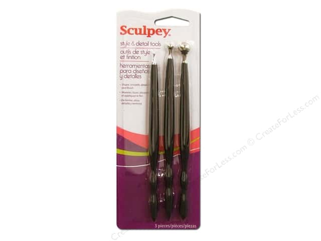 Sculpey ClayTools Style and Detail 3 pc.