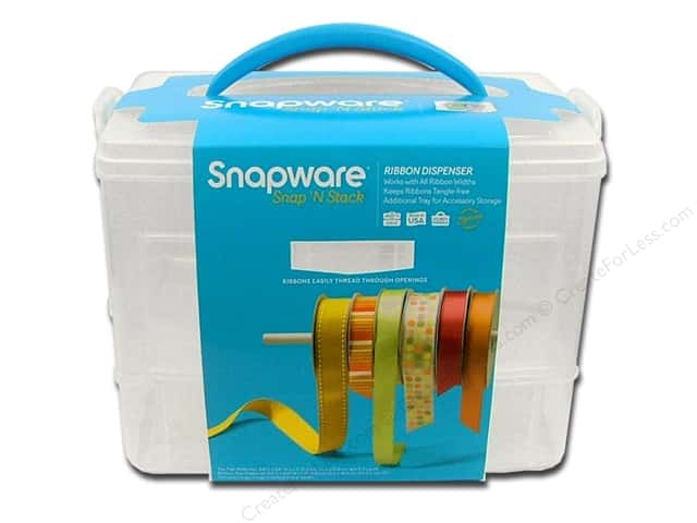 Snapware Snap 'N Stack Ribbon Dispenser 2 Layer