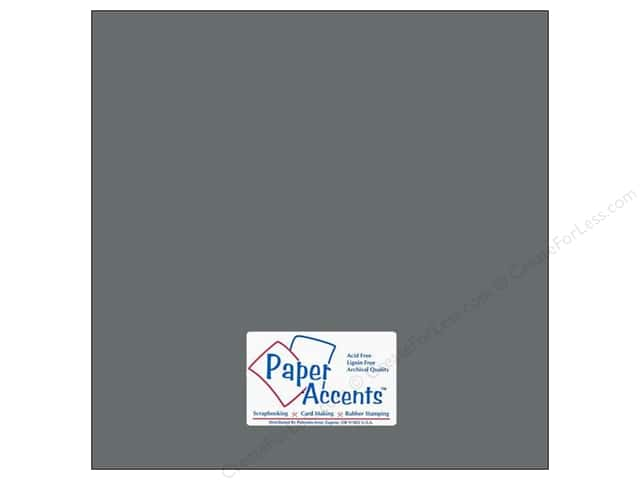 Cardstock 12 x 12 in. #18079 Smooth Nor'easter by Paper Accents (25 sheets)