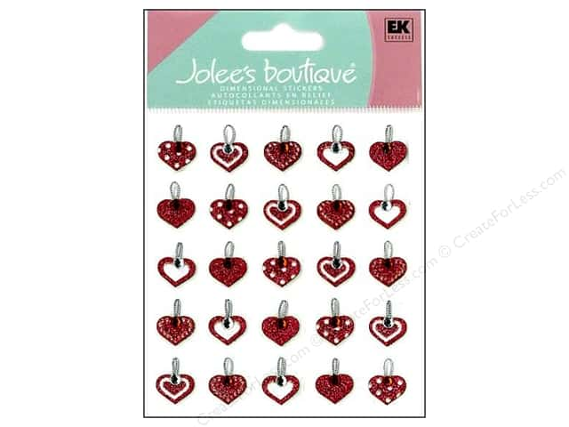 Jolee's Boutique Stickers Repeats Heart