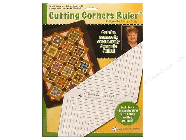 Cozy Quilt Designs Rulers Cutting Corners