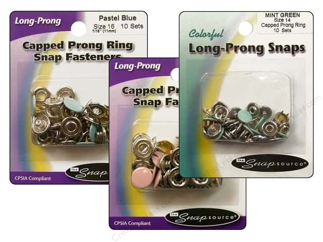 Snapsource Snap Capped Prong Ring