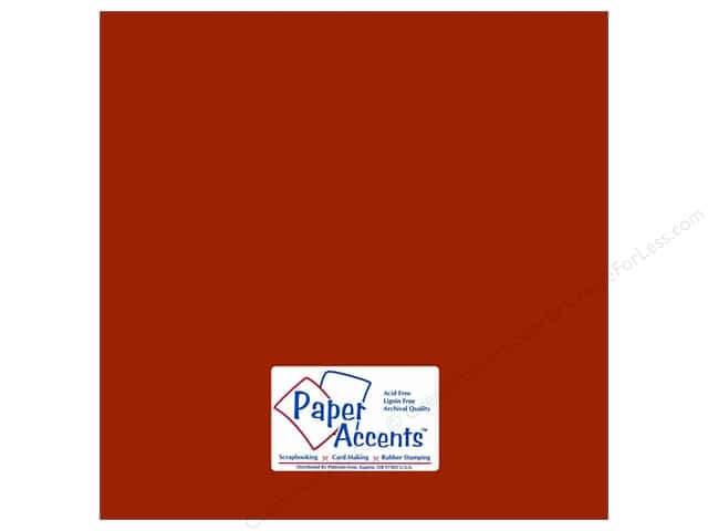 Cardstock 12 x 12 in. #18004 Smooth Macintosh by Paper Accents (25 sheets)